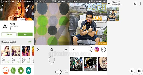 Cara Edit Foto Menggunakan Aplikasi Prisma Di Android