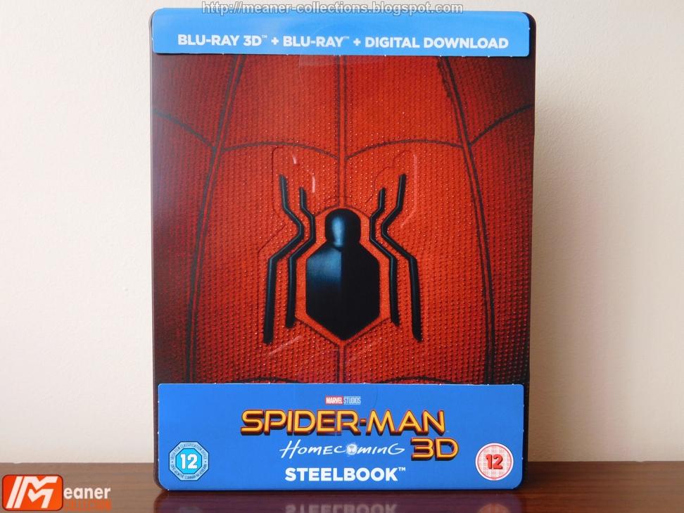 Spider-Man: Homecoming - [Blu-ray Steelbook + Magnet + Comic