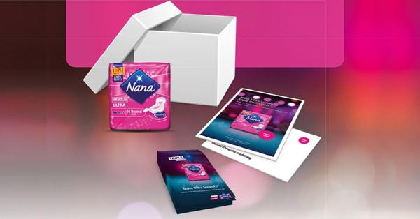 4000 paquets de serviettes Nana pour 4000 teststeus