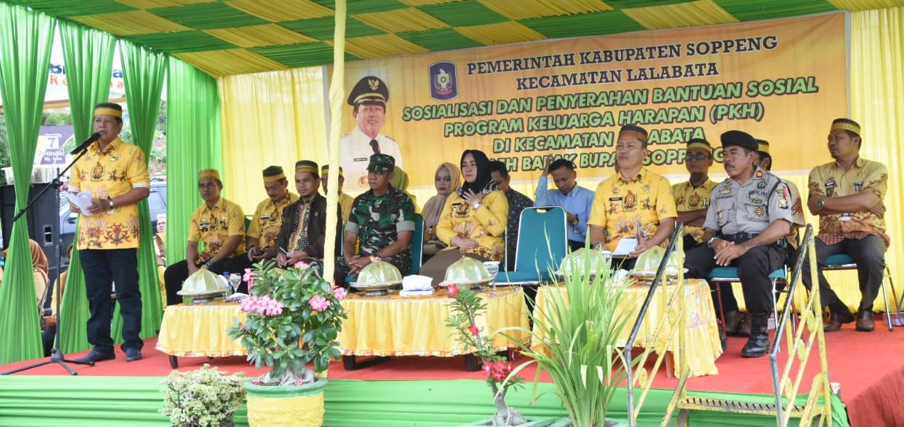 Kaswadi Pastikan Program PKH di Soppeng Tepat Sasaran