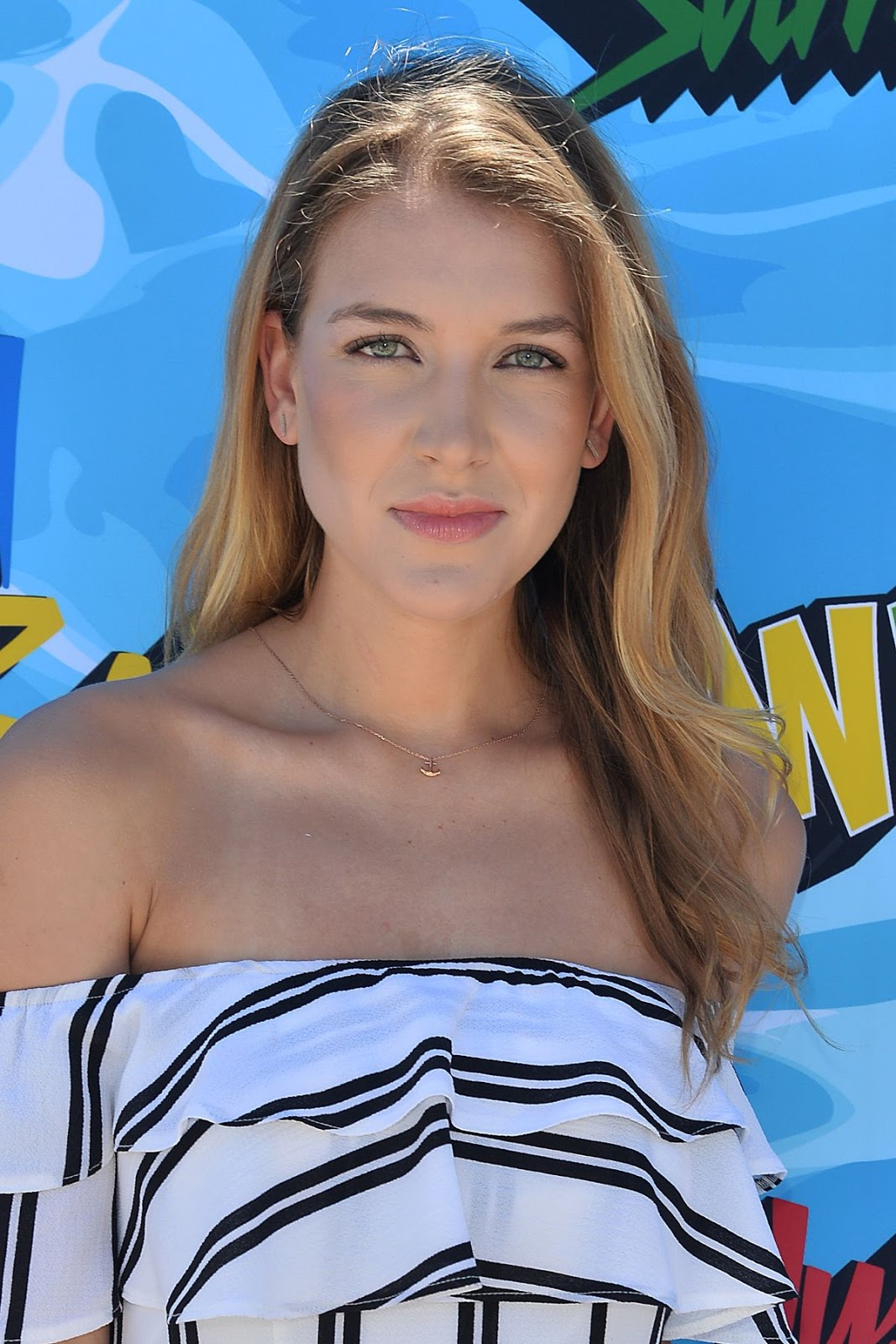 Wildflower actress Nathalia Ramos at 4th Annual Just Jared Summer Bash in Beverly Hills