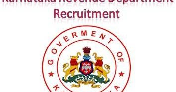Karnataka%2BRevenue%2BDepartment%2BRecruitment  Th P Govt Job Online Form Latest on