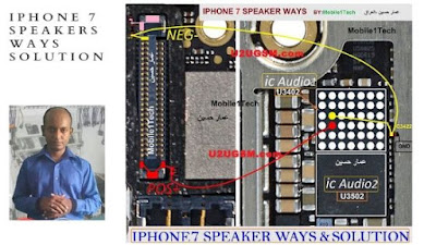 iphone speaker not working during calls