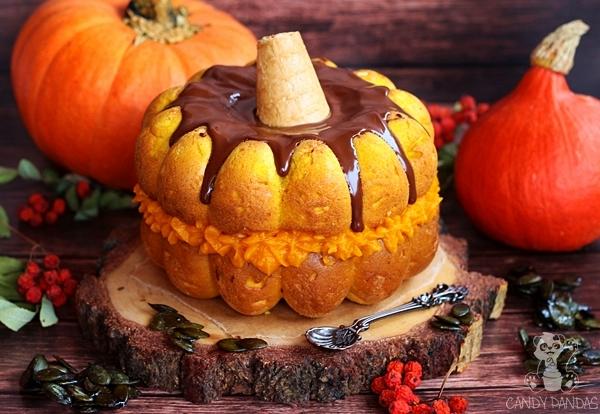Tort dynia (bez glutenu, cukru białego, laktozy)