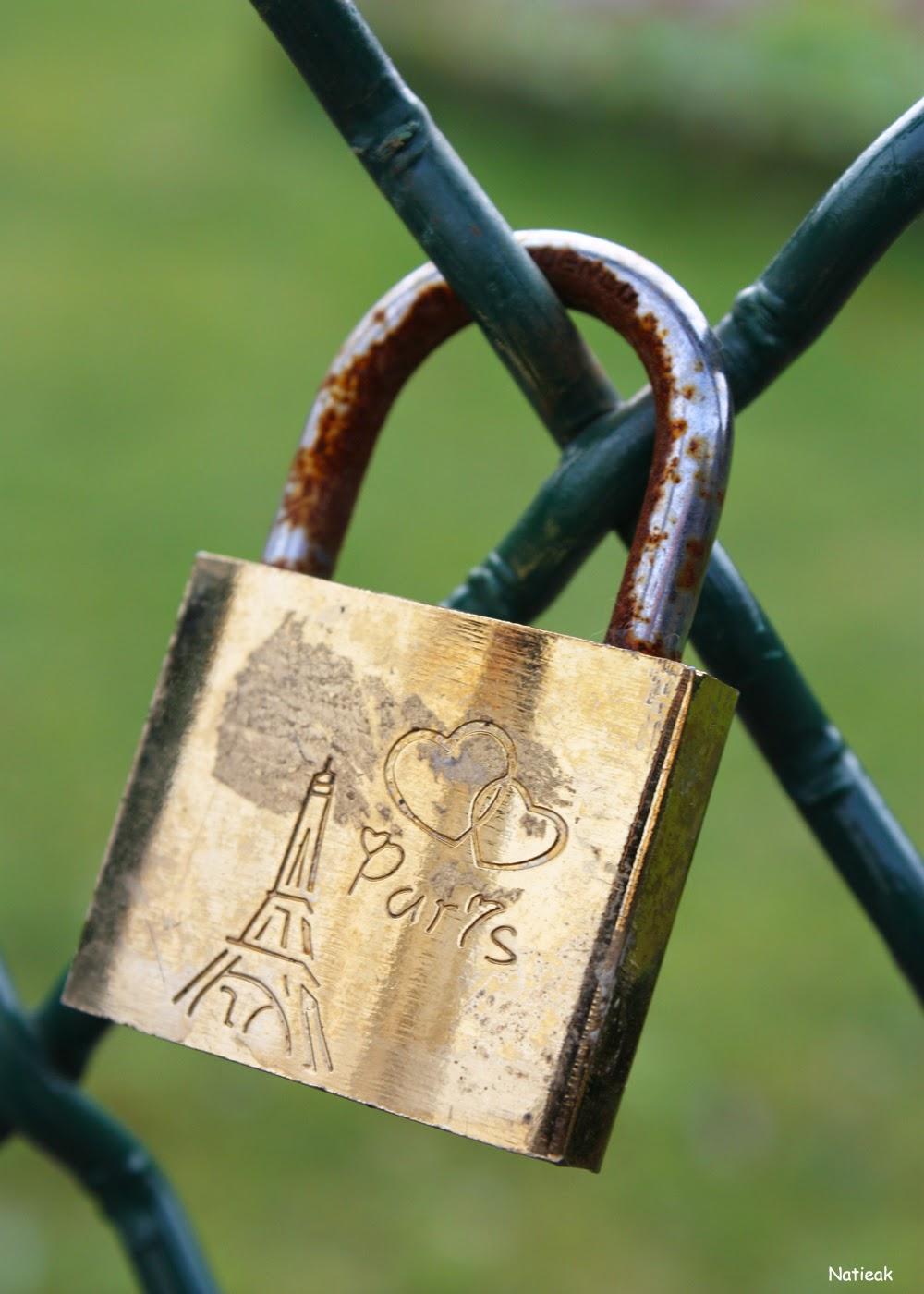 Les cadenas de l'amour du Trocadéro
