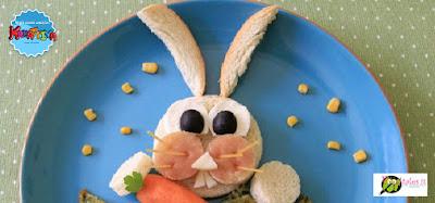 come realizzare un coniglietto con il pane