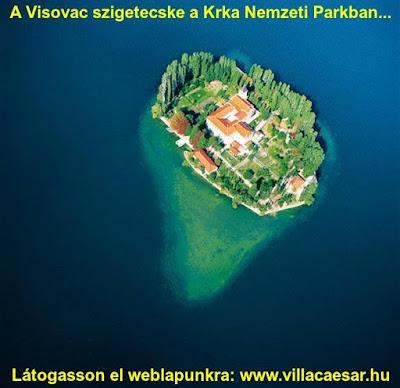 horvát szigetek listája