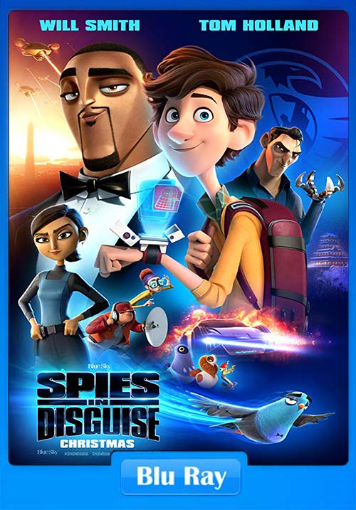 Spies In Disguise 2019 Dual Audio Hindi 720p BLuRay ESubs x264 | 480p 300MB | 100MB HEVC