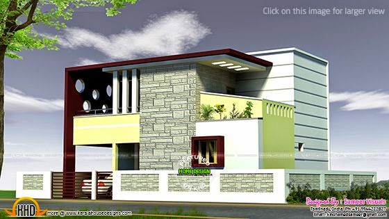 March 2015 kerala home design and floor plans for House exterior design photo library