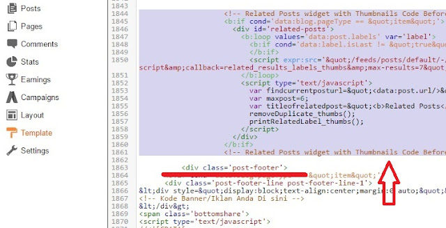 Add Related Post Widget For Blogger - 3