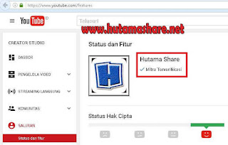Cara Verifikasi Youtube