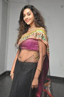 Anu-Priya-transparent-saree-photo