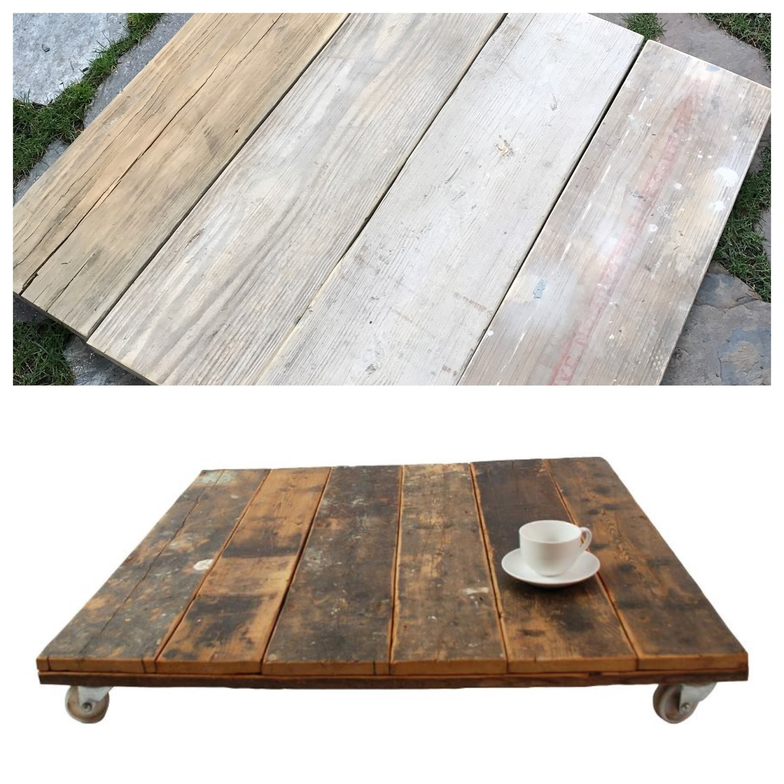 The Next Step Was To Stain The Wood. I Used A Combination Of Stains To Get  A Variety Of Colors.