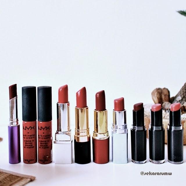 Barisan Lipstik Merah