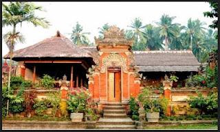 Model dan Desain Rumah Adat Bali