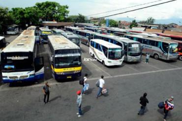 Dishub Depok Mulai Data Bus Armada Lebaran