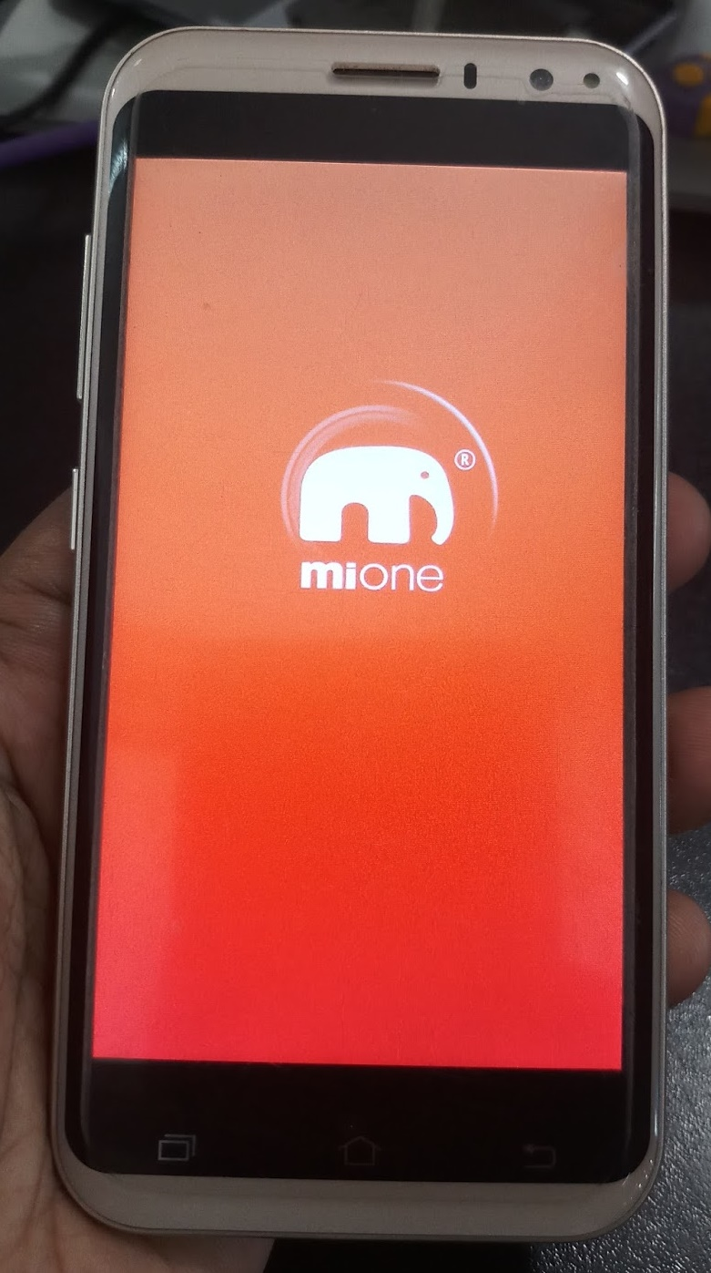 Mione R6 Flash File Firmware MT6580 Android 51 Hang Logo