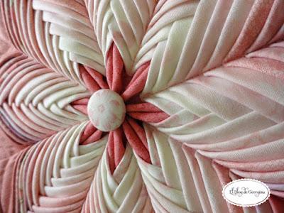 Декоративное панно в технике артишок: Фото МК