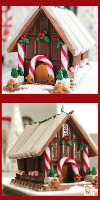 Candy Christmas House A Non Gingerbread No Bake Light