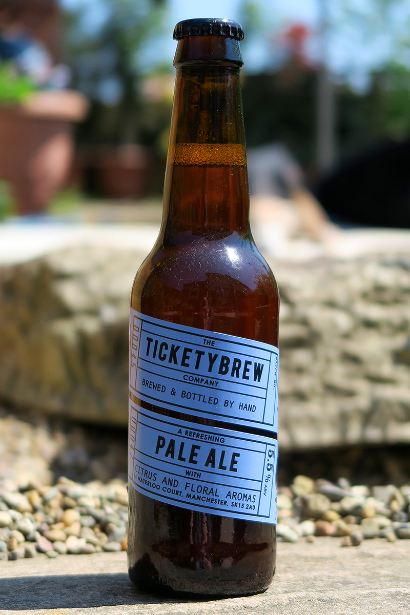TicketyBrew Pale Ale from The Beer Isle June Subscription Box - North West England