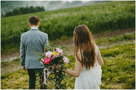 Symboliczny ślub w Plenerze, Ślub w plenerze, ślub i wesele w Krakowie, ślub w Dolinie Cedronu, Winsa Wedding Planner, koordynacja ślubu i wesela, w stylu vintage, vintage wesele, bukiet ślubny piwonie, boho, bohemian ślub i wesele, bukietlove