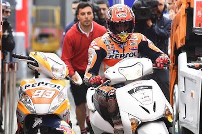 Marquez Sudah Kembalikan Skuter 'Curiannya' Saat Kualifikasi Assen