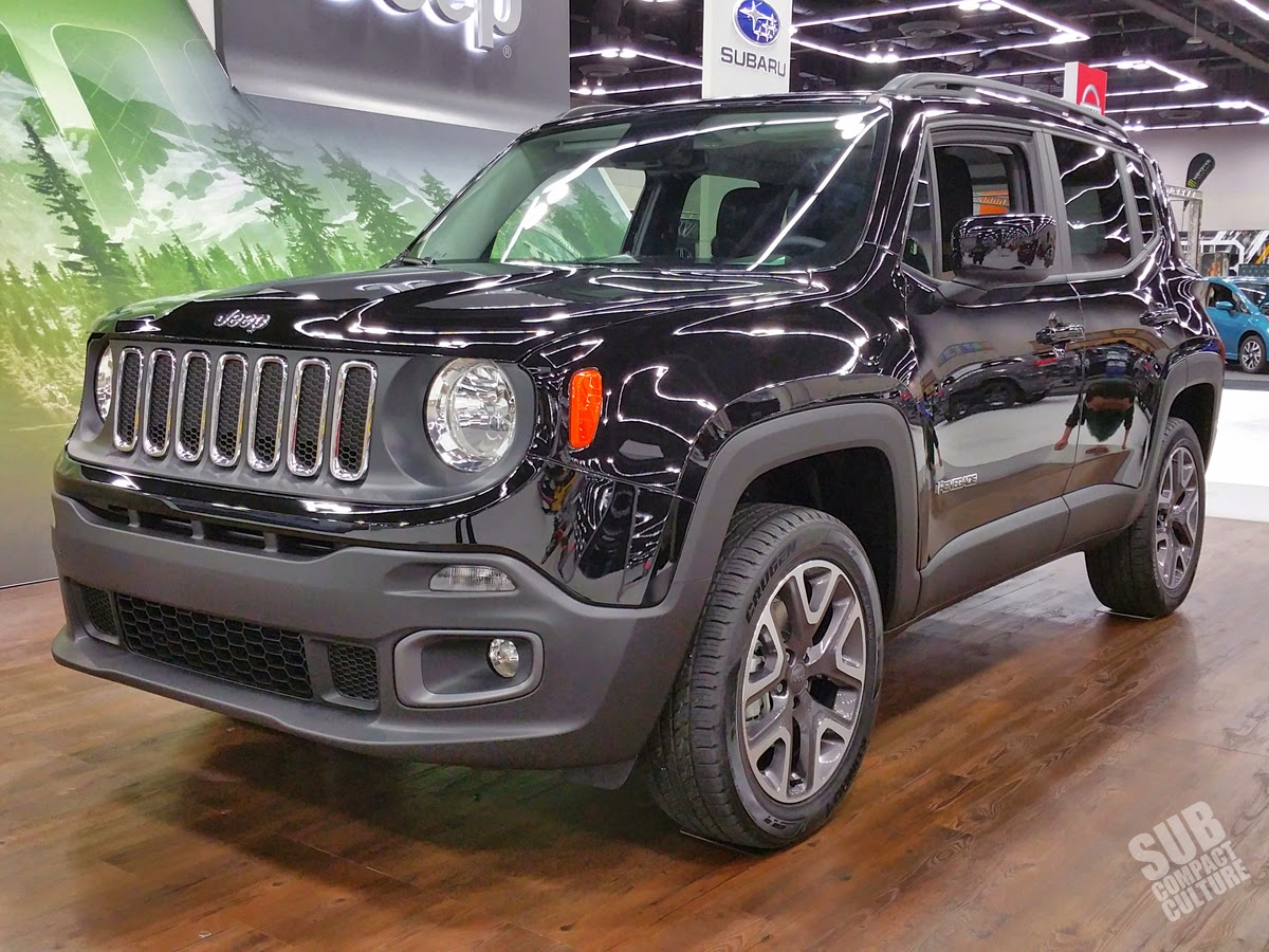 Black Jeep Renegade Latitude