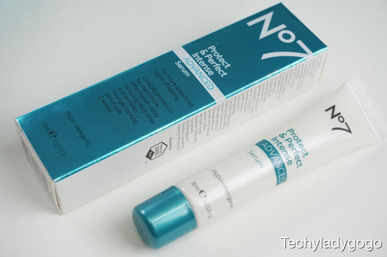 No7 Protect & Perfect Intense Advance Serum (No7 โพรเทค แอนด์ เพอร์เฟค อินเทนซ์ แอดวานซ์ เซรั่ม) - 30ml 1,350 บาท