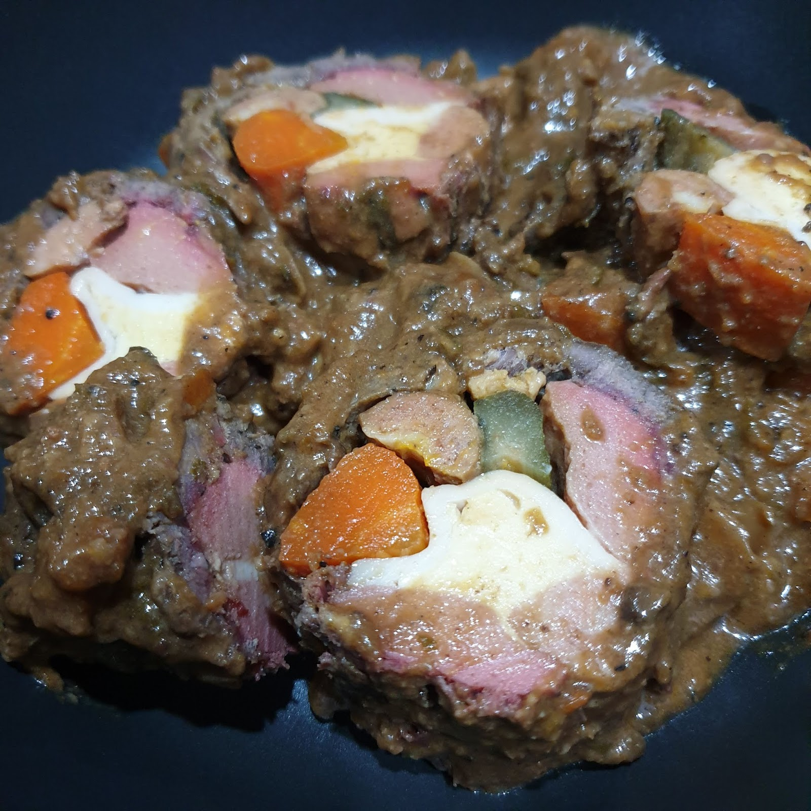 Recipe Filipino Beef Morcon Experimental Sous Vide Version It S All About Food