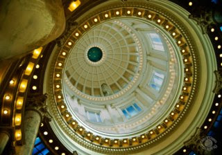 Professional quality fine art photograph of the Idaho State Capital Dome in Boise, Ada, Idaho by Cramer Imaging