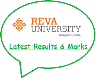 Reva University Results Nov Dec 2018