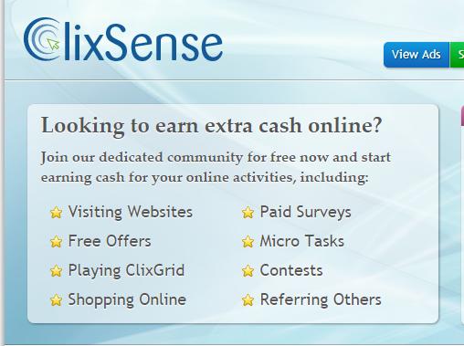 Tutorial para comenzar a ganar dólares con ClixSense