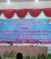 <b>Walikota Bima Gagal Hadir, Para Ketua Rt Kecewa</b>