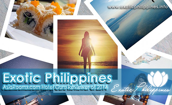 Exotic Philippines AsiaRooms Hotel Guru Reviewer of 2014