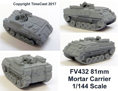 FV432 81mm Mortar Carrier