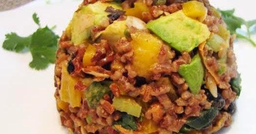 Caribbean Salads Ready To Go: Ready Health Go: CARIBBEAN RED RICE SALAD WITH CHILI
