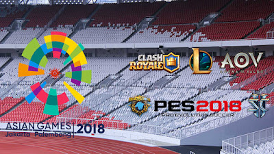 Game Yang Akan Meramaikan Ajang Esports Asian Games 2018