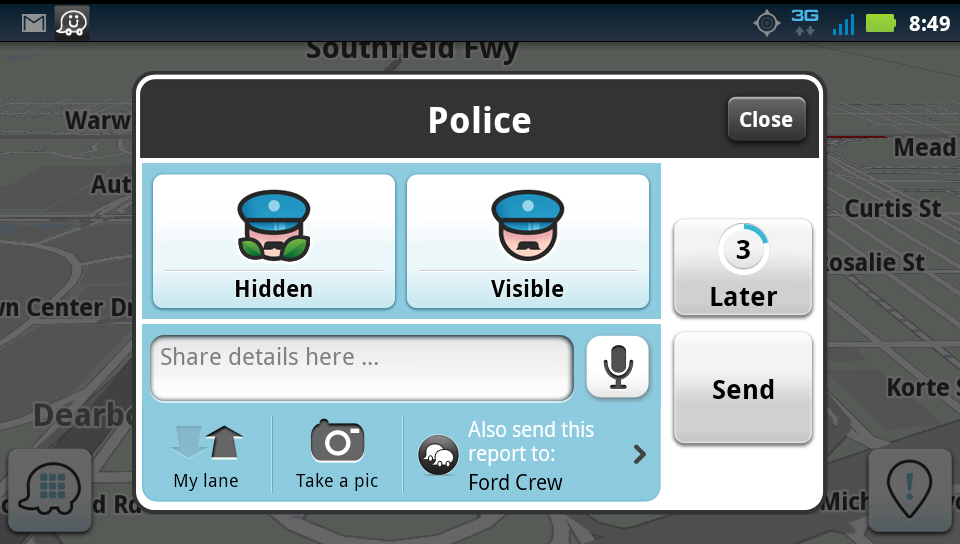 Waze App For Computers: Using Waze App On Avoiding Police