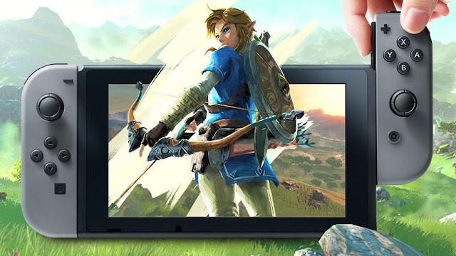 La batería de Nintendo Switch es puesta a prueba con Zelda Breath Of The Wild