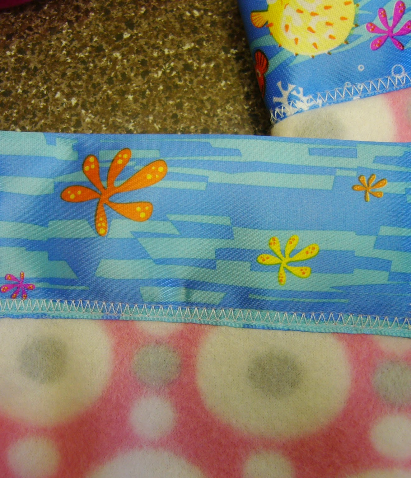 Simply Shoeboxes: Satin Blanket Binding On Bitty Blankets