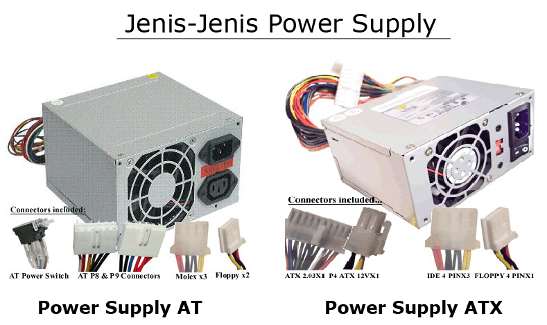 Jenis Jenis Power Supply dan Fungsinya