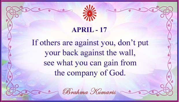 Thought For The Day April 17
