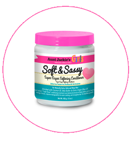 Aunt Jackie's GIRLS Soft and Sassy Softening Conditioner