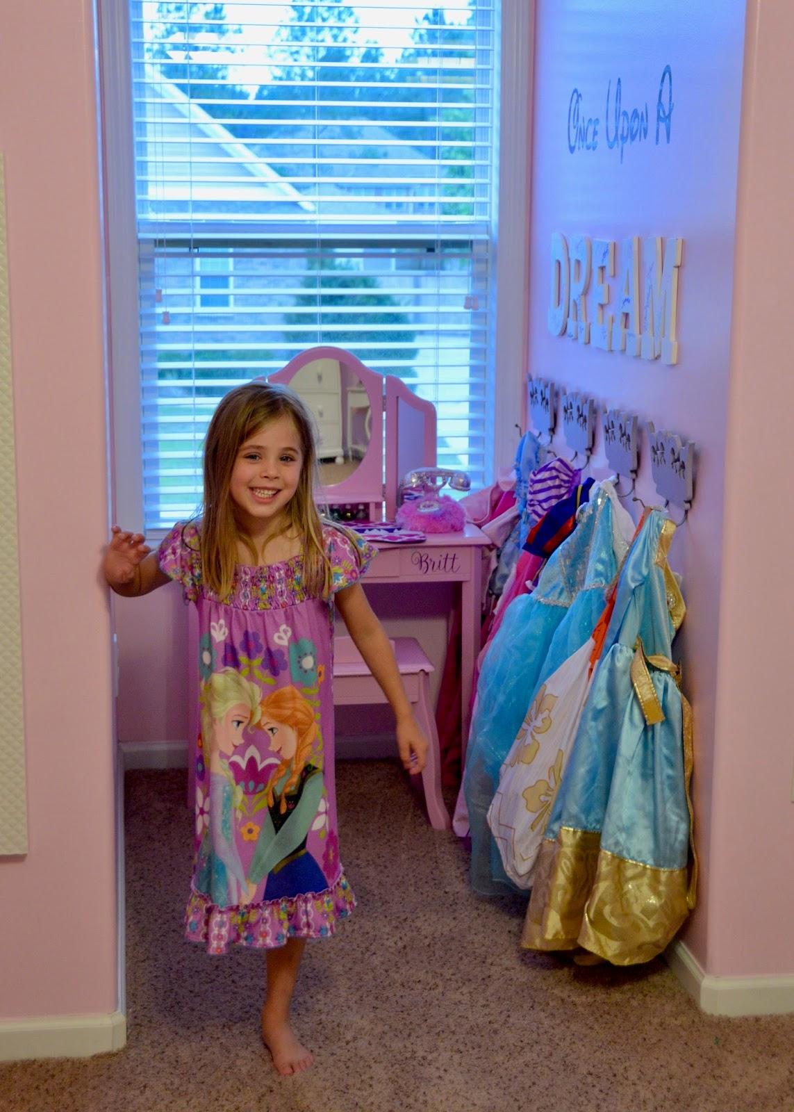 Tour of our Home: Britt's Princess Room