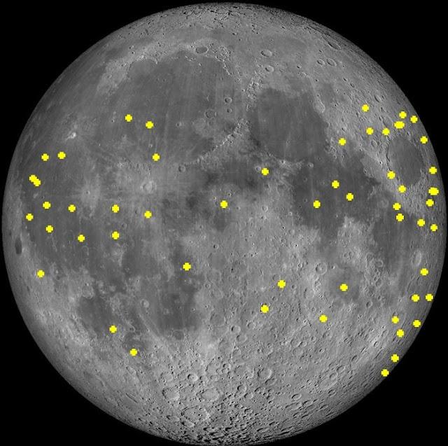 Το τηλεσκόπιο του Εθνικού Αστεροσκοπείου Αθηνών κατέγραψε προσκρούσεις μετεωριτών στο φεγγάρι