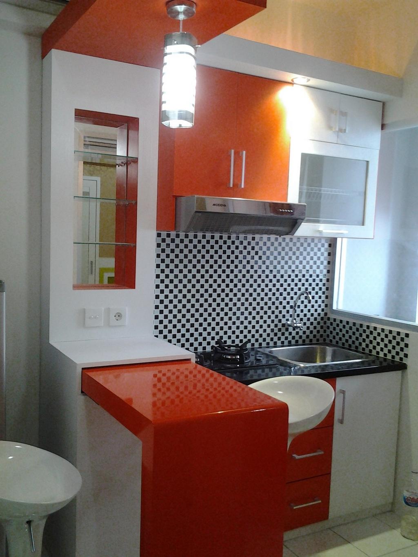 kitchen set apartemen 3