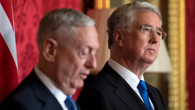 Reino Unido participaría en posibles ataques de EEUU contra Siria