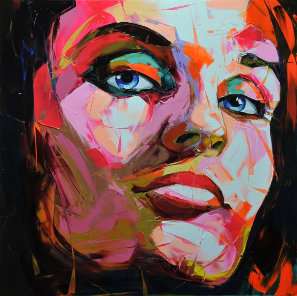 Colorful Knife Paintings by Francois Nielly
