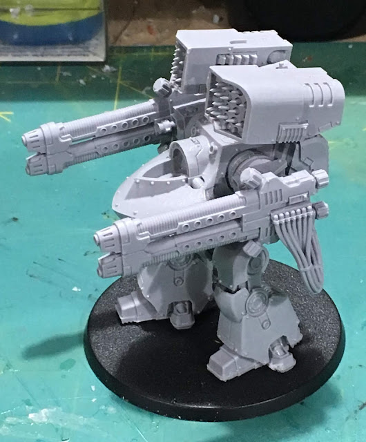 Horus Heresy First Legion Deredeo Pattern Dreadnought WIP