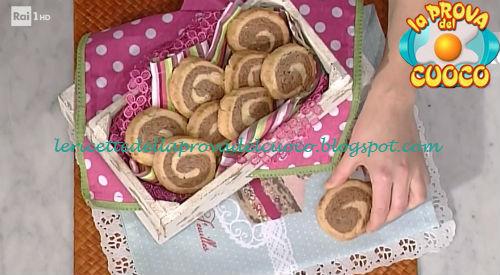 Ricetta del Biscotto bicolore da La Prova del Cuoco
